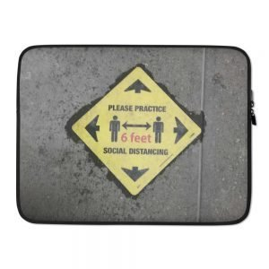 Social Distance Laptop Sleeve