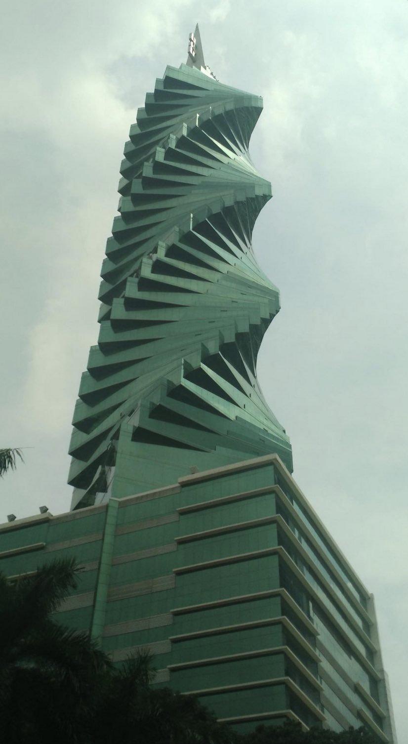 Scew Building Panama City
